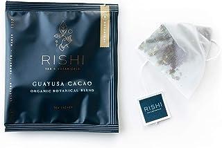 Rishi Tea Guayusa Cacao Herbal Tea | Immune & Heart Support, USDA Certified Organic, Antioxidants, Mental Alertness, Energ...