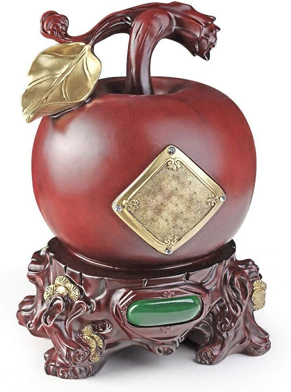 RMXMY Moda Creativa autoino salvadanaio Decorazione della casa Ornamenti Mela Cambia salvadanaio personalità Semplice Regalo Adulto salvadanaio