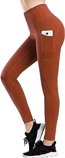 LifeSky High Waist Yoga Pants Capri Workout Leggings for Women with Pockets Tummy Control Soft Pants