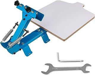 VEVOR Screen Printing Machines 1 Color 1 Station Screen Printing Press with 22x18 Inch Printing Area Silk Screen Printing Machine for t Shirts
