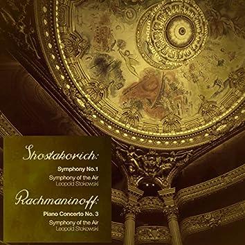 Shostakovich: Symphony No. 1 - Rachmaninoff: Piano Concerto No. 3 (Digitally Remastered)