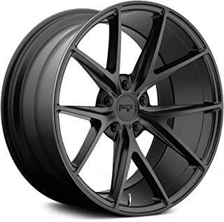 NICHE Misano BD -Matte BLK Wheel with Painted (20 x 10. inches /5 x 120 mm, 40 mm Offset)