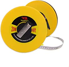 Tape measure Thick fiber disc Leather tape measure Ground rule Track and field ruler Linen ruler 20m 30m 50m (Size : 50cm)