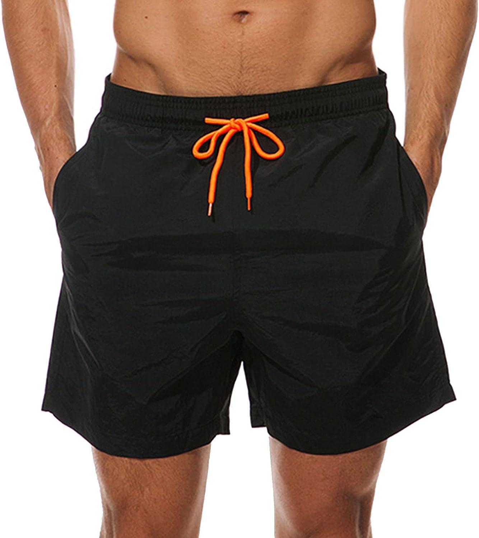 DoDoe Swiming Shorts Men Summer Casual Loose Board Elastic Waist Bottoms Breathable Bathing Plus Size Beach