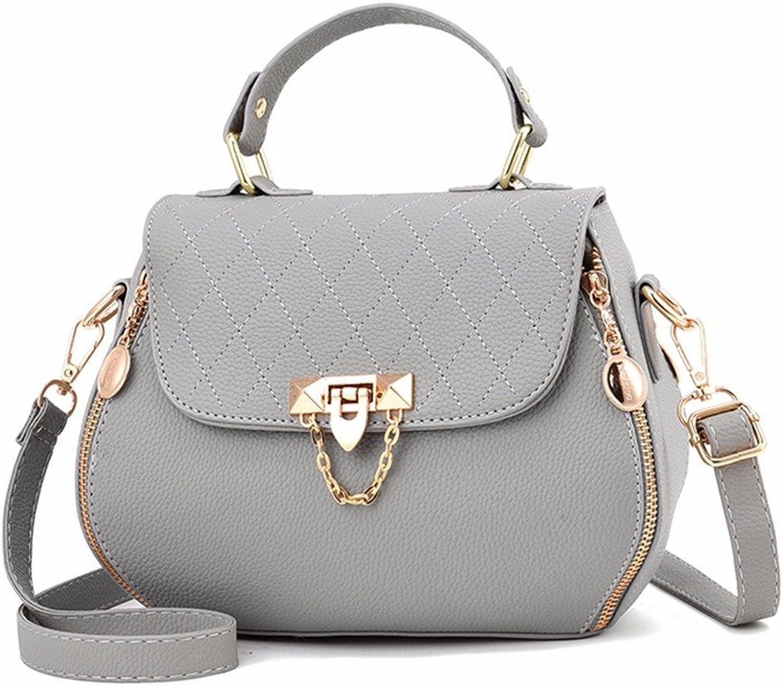 Damen Handtaschen Fashion Handtaschen für Frauen Schlicht PU PU PU Leder Schultertasche Messenger Tote Bag B07FCF86T6  Billig e0977a