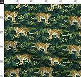 Tiere, Tiger, Tropisch, Exotisch, Fauna Stoffe -