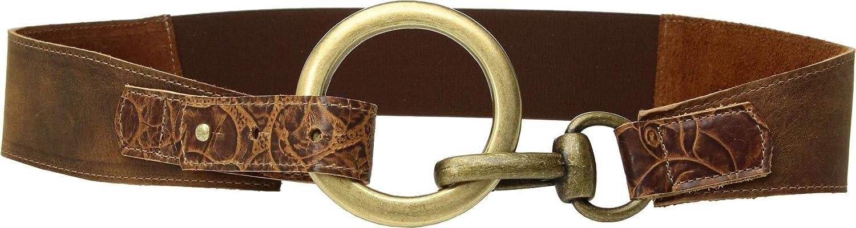 Leatherock Women's Blair Belt Tobacco MD (34  Waist)