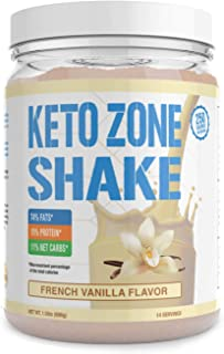 Keto Zone Shake (Vanilla Flavor)