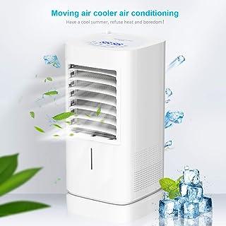 Aire acondicionado portátil multifunción, 220 V, con temporizador, silencioso, para el dormitorio, la oficina, en casa, escritorio