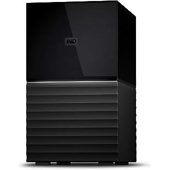 WD デスクトップHDD 12TB USB3.1 Gen 1 暗号化 RAID 0,1 バックアップ My Book Duo WD Red 採用 / WDBFBE0120JBK-JESN 3年保証