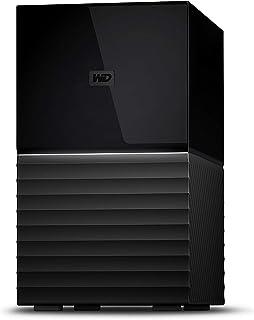 WD デスクトップHDD 8TB USB3.1 Gen 1 暗号化 RAID 0,1 バックアップ My Book Duo WD Red 採用 / WDBFBE0080JBK-JESN 3年保証