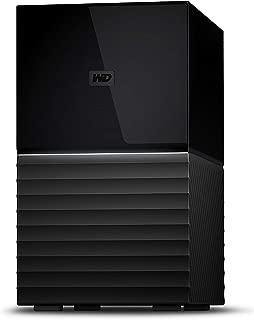 WD HDD 外付けハードディスク 6TB My Book Duo WDBFBE0060JBK-JESN USB3.1 Gen 1/RAID 0,1対応/3年保証