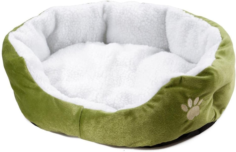 Desti Flakes Pet Bolster Dog Bed Comfort Cat Litter pet Dog Supplies Little Dog House (color   A)
