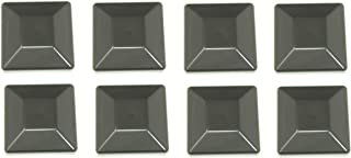JSP Manufacturing Plastic New Fence Post Black Caps 4X4 (3 5/8