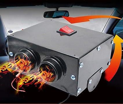 MASO 12V 500W Car Heater,Car Defroster,Truck Fan Heating Warmer Demister For Vehicle RV SUV: image