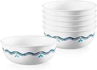 Corelle Chip Resistant Soup and Cereal Bowls, 6-Piece, Lisbon Terrace