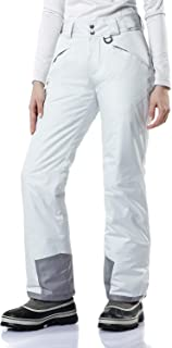 Women's Rip-Stop Snow Pants Windproof Ski Insulated Water-Repel Bottoms