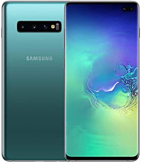 Samsung Galaxy S10+ Mobile Phone; Sim Free Smartphone - Prism Green (UK Version)