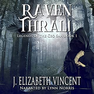 Raven Thrall audiobook cover art