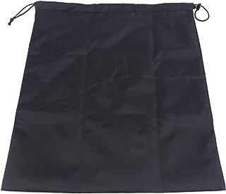 Générique Ristiege Sacs à Cordon en Nylon pour Les Voyages et Les activités de Plein air,Noir 3,34 * 39 cm