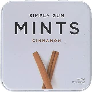 SIMPLY GUM Cinnamon Mints, 1.1 OZ