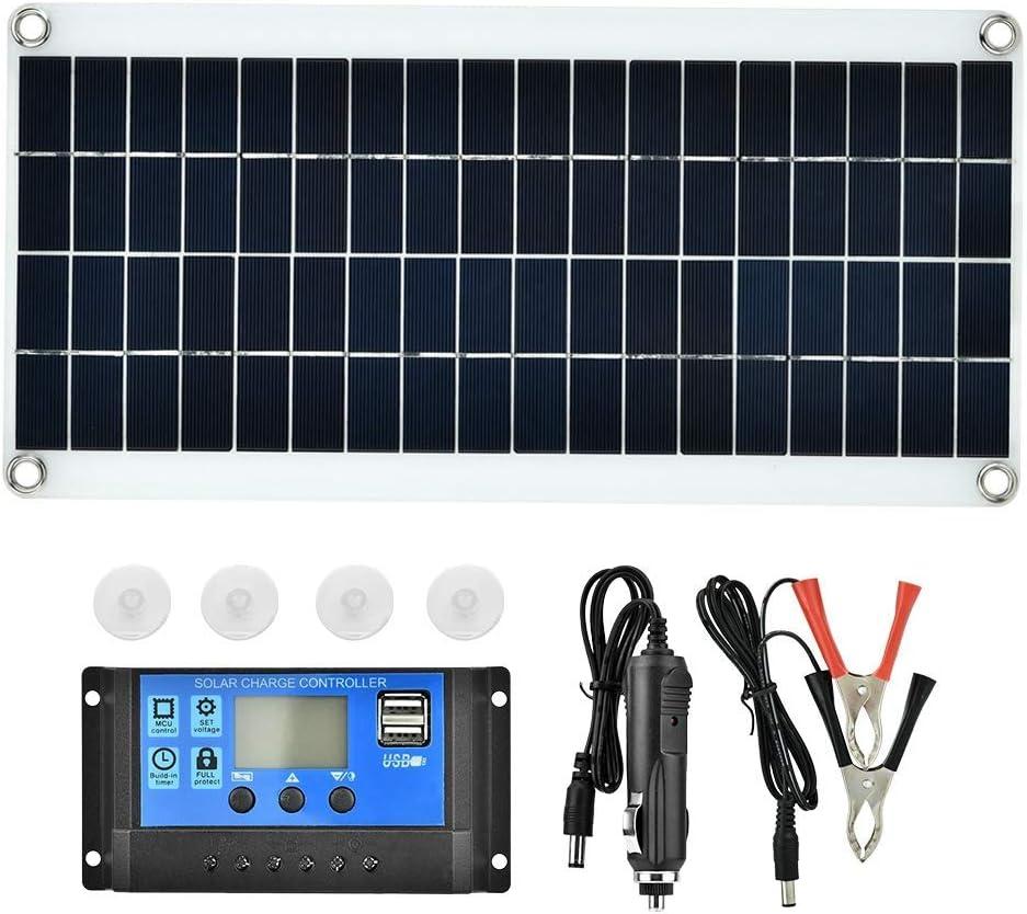 Polycrystalline Long Beach Mall Solar Panel Controller Max 54% OFF Flexible Polycrystal 20W