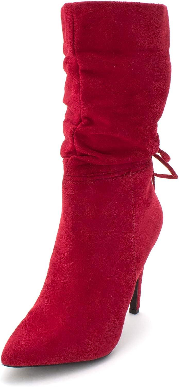 ZiGi Soho Women's JEENIE Fashion Boot, Dark red, 9 Medium US