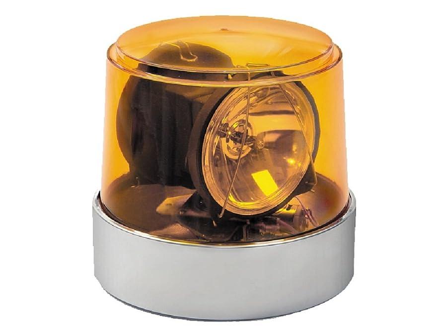 Wolo (3600-A) Power Beam Halogen Rotating Emergency Warning Light - Amber Lens
