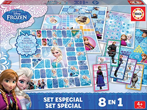 Educa Borrás Frozen - Set Especial 8 en 1