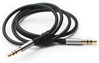 NewFantasia Replacement Cable Compatible with B&O Play Bang&Olufsen Beoplay H6, H7, H8, H9, H2 Headphones Black 4.5ft/150cm