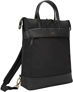 Targus TSB948GL 15 inches Newport Travel and Commute Trendy Convertible 2 in 1 Backpack - Black