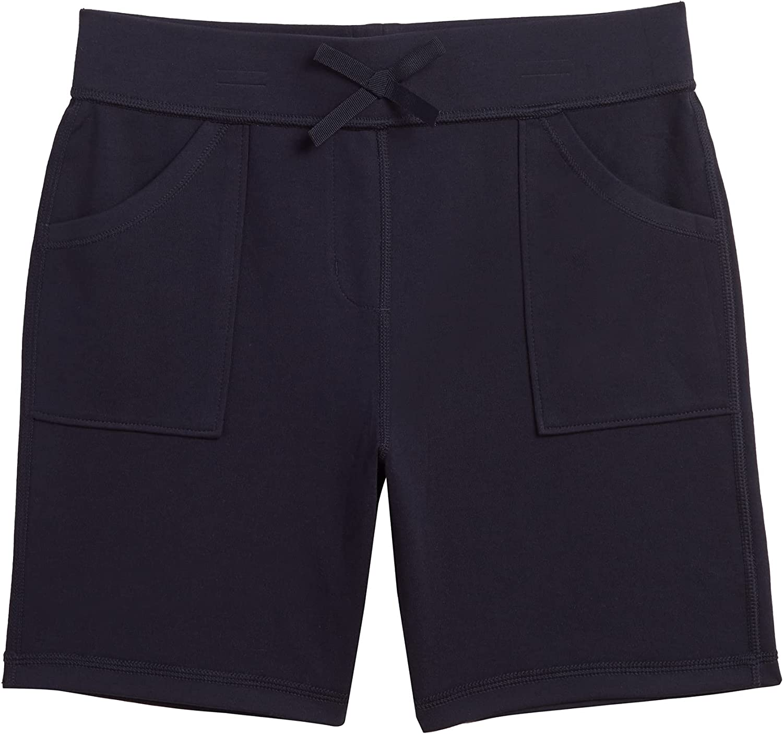 IZOD Girls' School Uniform Max 59% OFF Soft Max 52% OFF Short Pull-on Sensory-Friendly