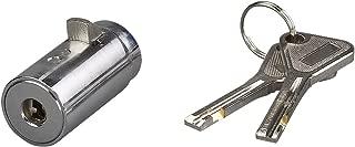 High Security Vending Machine Lock with European Keyway, Chrome Finish, Keyed Alike