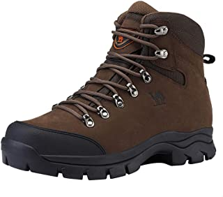 CAMEL CROWN Mens Hiking Boots Outdoor Trekking Backpacking Boot Mid Hiker Boot for Men