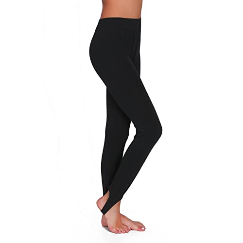b5f35537bb2909 FUTURO FASHION Womens Opaque Stirrup Leggings Thermal Thights LS