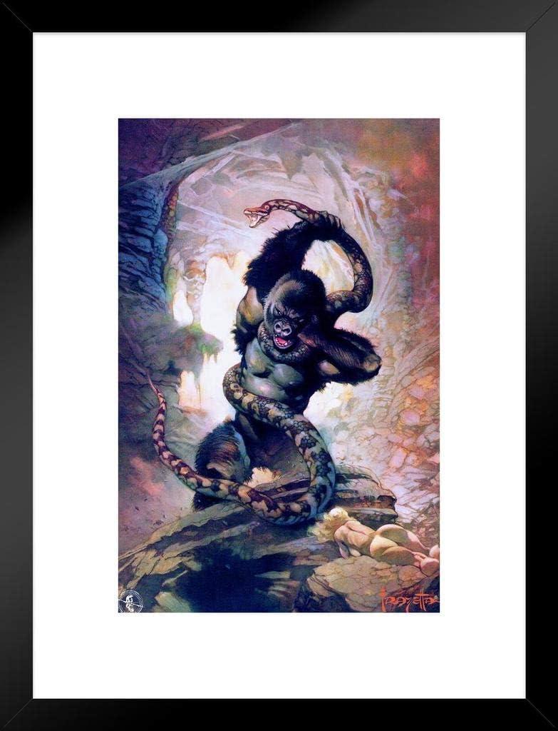 Frank Frazetta 8th Wonder Gorilla Science Fiction Snake Fantasy Quantity Kansas City Mall limited