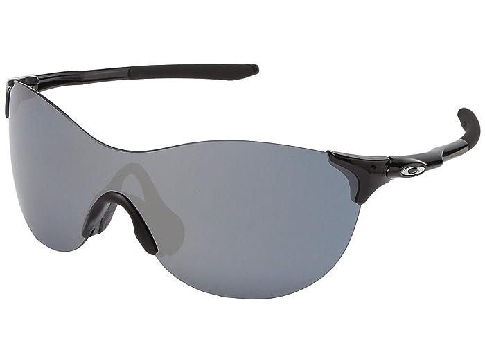 Oakley 37 mm EVZero Ascend (Polished Black) Fashion Sunglasses