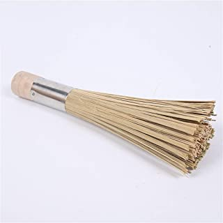 New Design Wash Pot Brush Dishes Handmade Non Stick Oil Natural Bamboo Durable, Scrubber Dish Cloths - Laundry Ornament, Tooth Brush Case, Dish Tap, Snowman Toothbrush Holder, Handmade Scrubber