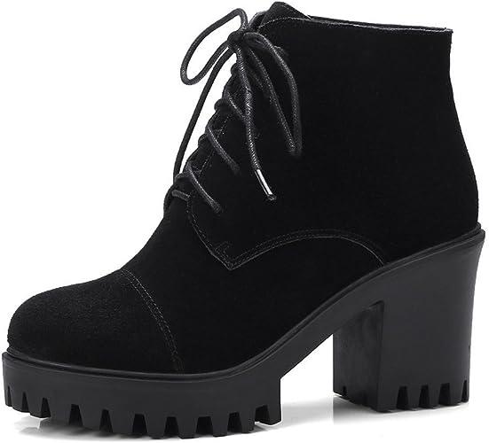 Sandalette-DEDE Mode et Bottes de Grossiers, à égalité avec Martin bottes à Talon Cravate des Bottes.
