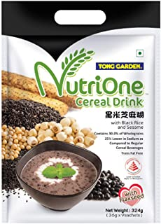 Tong Garden Nutrione Cereal Drink with Black Rice and Sesame, 324g