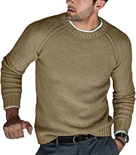 TieNew Autumn Modish Men Knitted Sweaters O Neck Pull Knitwear Winter Warm Clothes Casual Jumper Solid Pullovers Slim Swea...