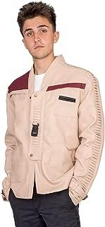 Star Wars Adult Men's Finn Costume Replica Leather Jacket