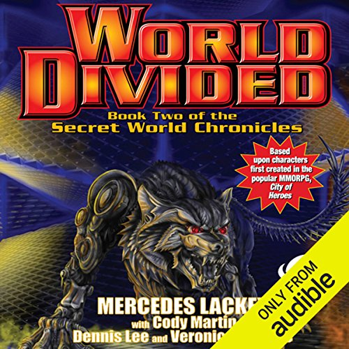 World Divided audiobook cover art