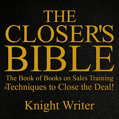 The Closer's Bible audiobook cover art