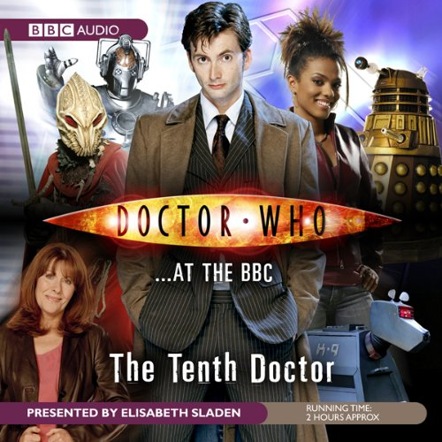 Doctor Who at the BBC audiobook cover art