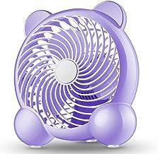 WDCC USB Tafelventilator, Cartoon Cat vormige Bureau Persoonlijke Ventilator 7 Inch Luchtcirculatie Koeling Elektrische Ve...