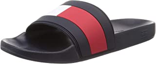 Tommy Hilfiger Men's Flag Pool Slide Beach & Pool Shoes
