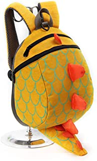 Toddler Primary Students Lightweight Bookbag for Boys and Girls Backpack 5 Years Old Anti-Lost Children Cute Dinosaur Bag