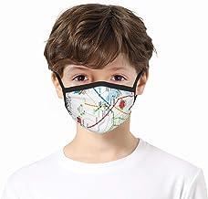 zhouyongz De T Handdoek Cover Balaclavs Tube Hoofdband voor Kids Stof Zonbescherming