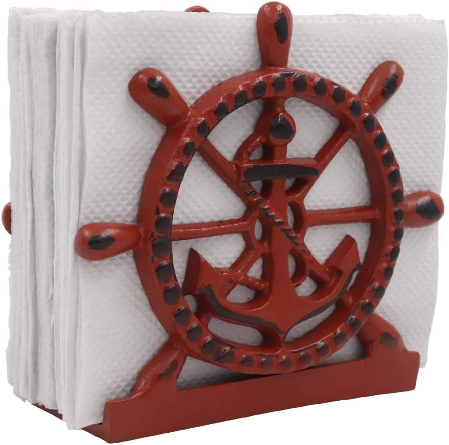 THDC Nautical Napkin Holder Collection 4 years warranty Lunch Dinner service